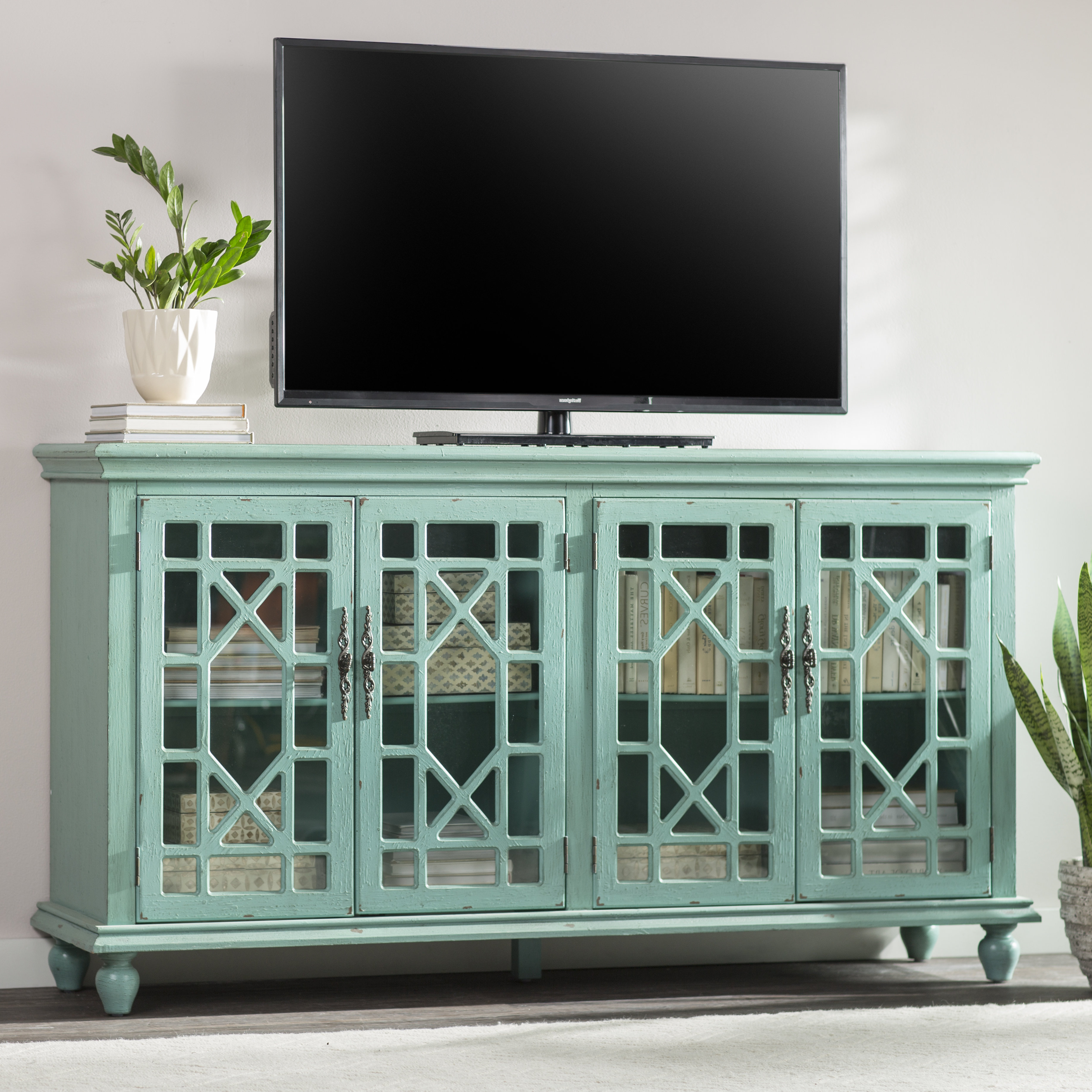 "Well Known Mistana Ira Tv Stand For Tvs Up To 70"" With Colefax Vintage Tv Stands For Tvs Up To 78"" (Gallery 7 of 20)"