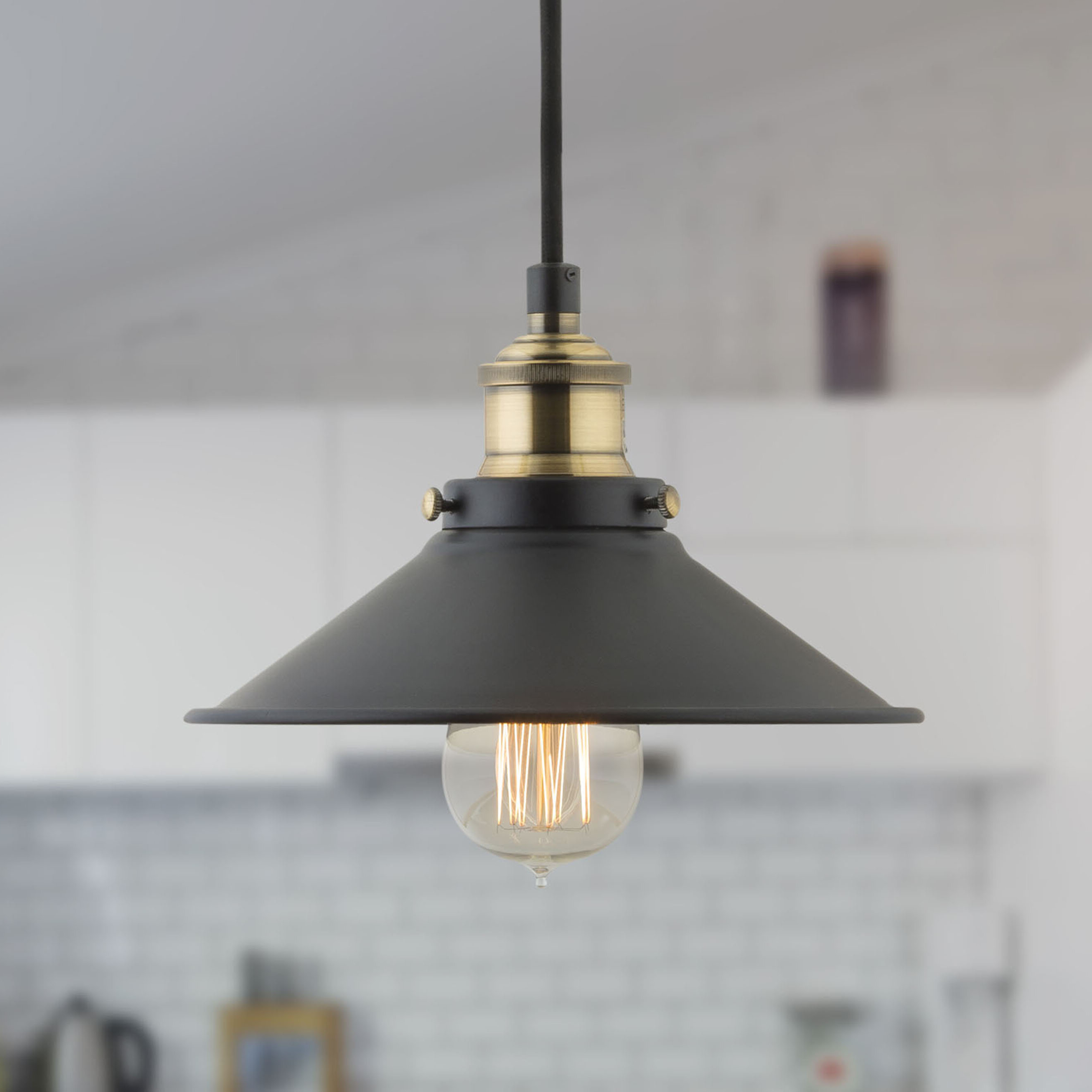 Well Known Montreal 1 Light Single Cone Pendant With Cinchring 1 Light Cone Pendants (View 17 of 20)