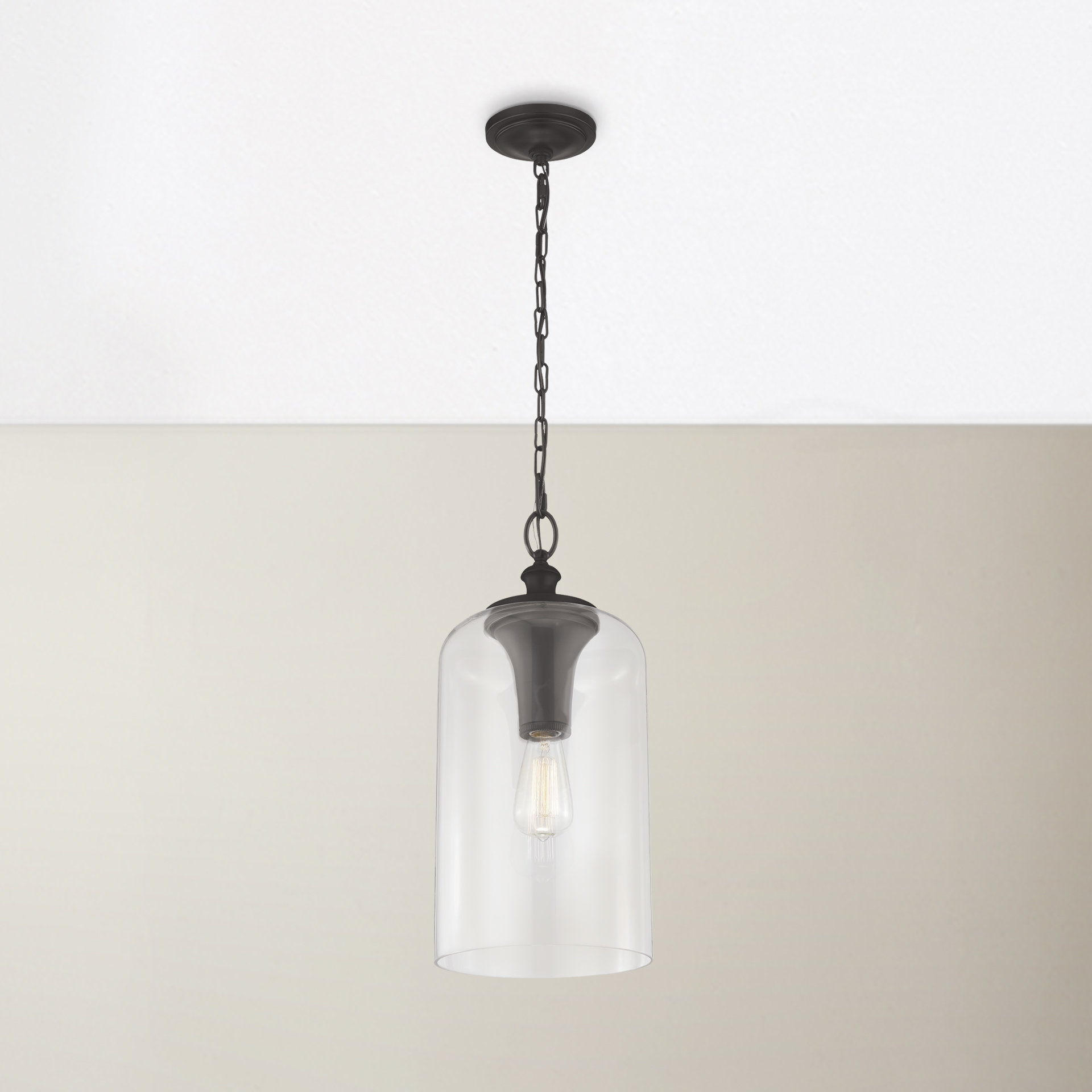 Well Known Nolan 1 Light Single Cylinder Pendant Intended For Clematite 1 Light Single Jar Pendants (View 4 of 20)