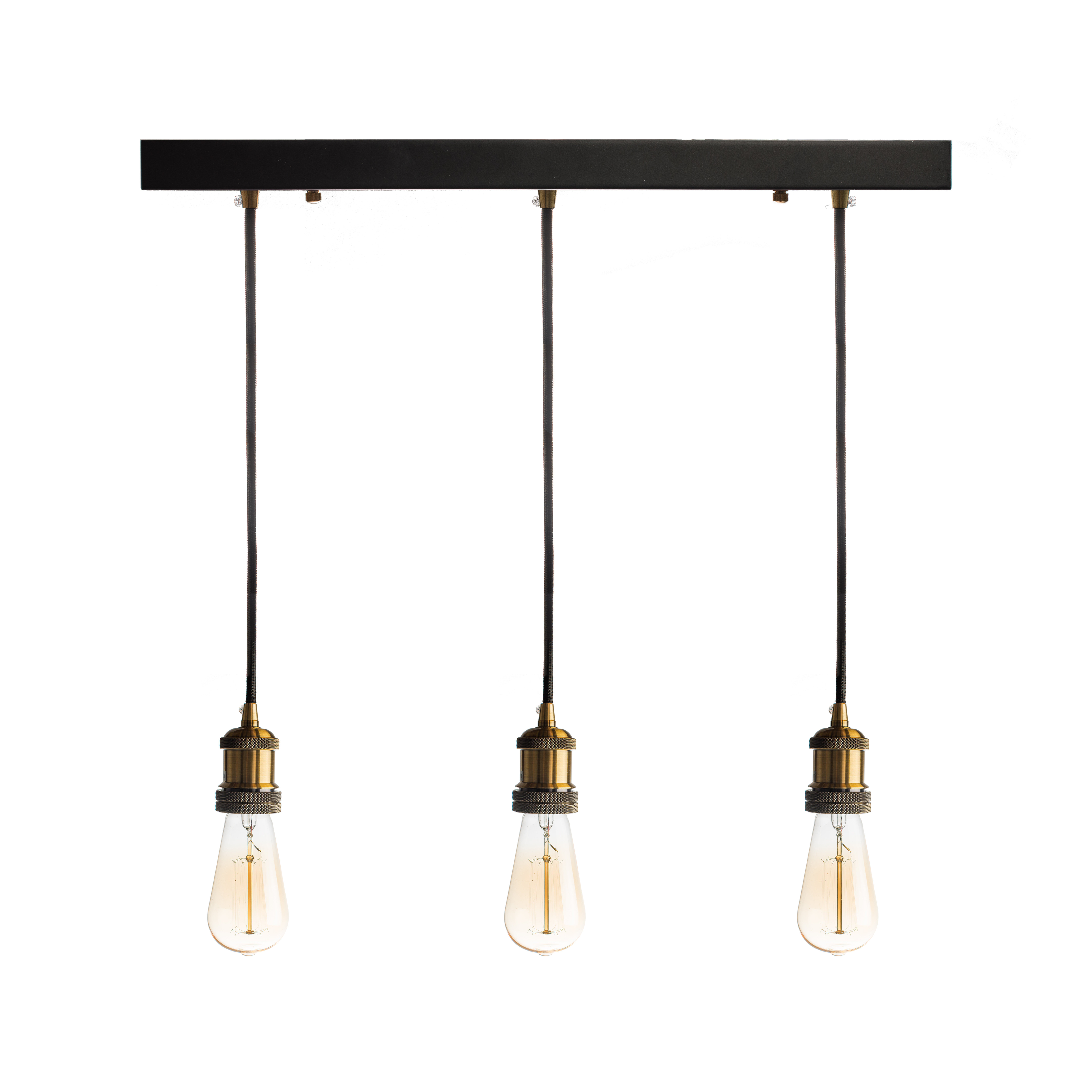Well Known Novogratz Vintage 5 Light Kitchen Island Bulb Pendants With Fabian 3 Light Kitchen Island Bulb Pendant (View 20 of 20)