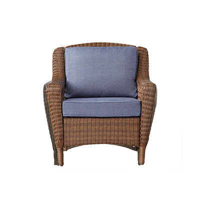 Well Known Patio Chairs – The Home Depot Regarding Mcmanis Patio Sofas With Cushion (Gallery 15 of 20)