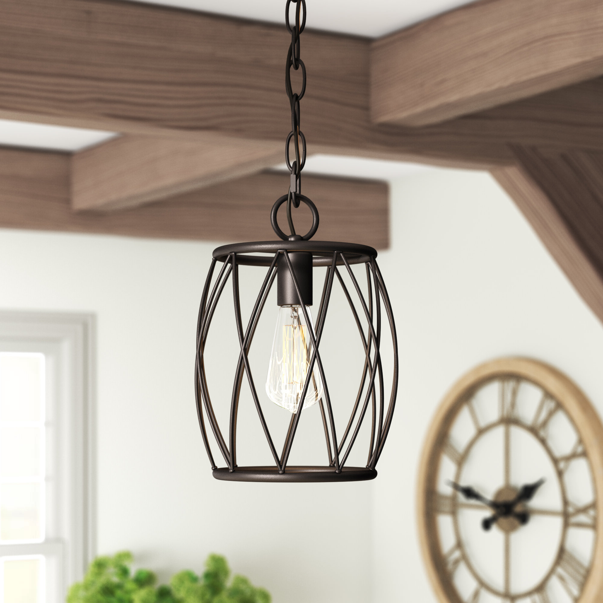 Well Known Poynter 1 Light Single Cylinder Pendants Regarding Poynter 1 Light Single Cylinder Pendant (View 3 of 20)