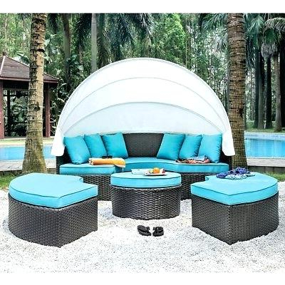 Well Known Round Patio Daybed – Beautifulboy.co Within Leiston Round Patio Daybeds With Cushions (Gallery 15 of 20)
