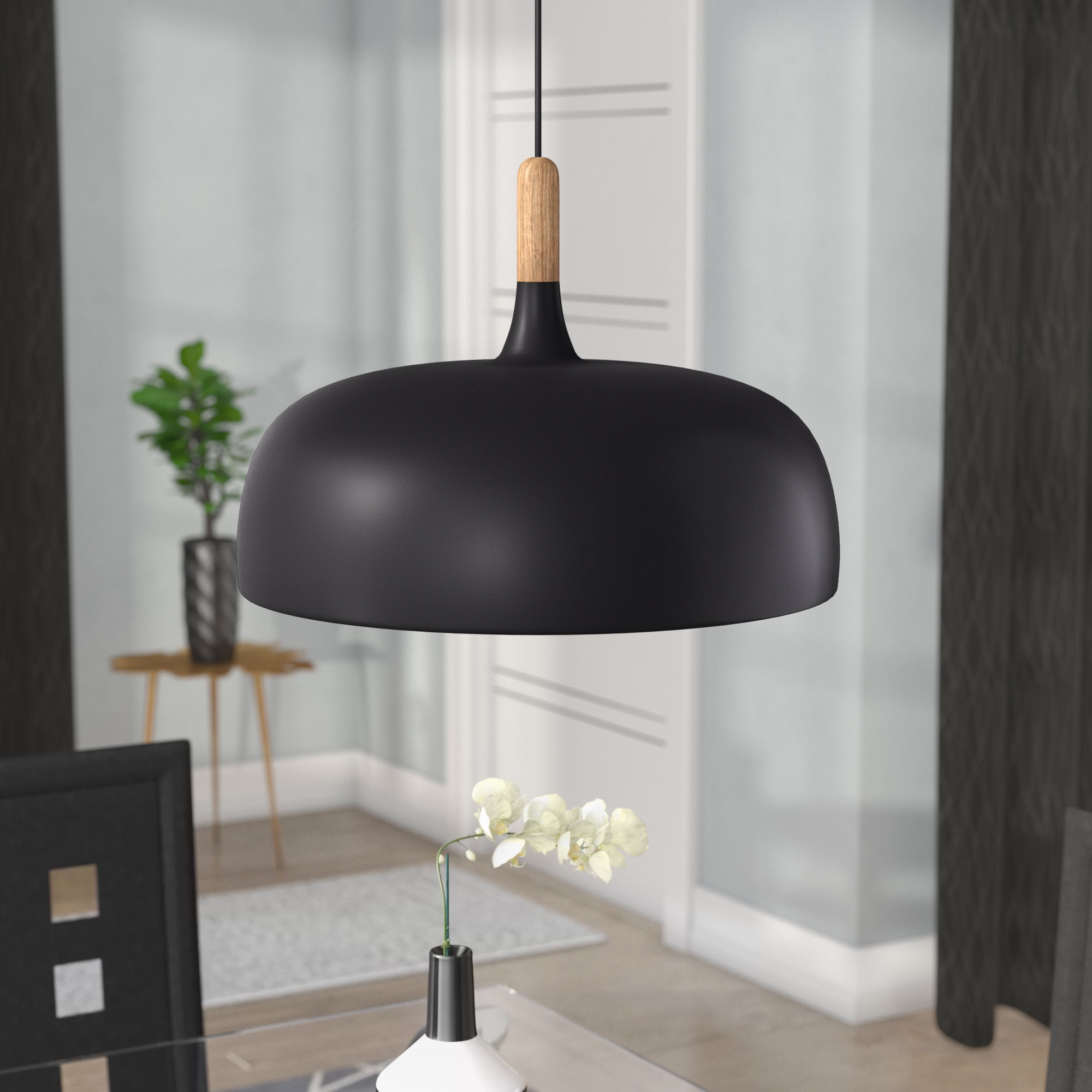 Well Known Ryker 1 Light Single Dome Pendants Throughout Ryker 1 Light Single Dome Pendant (View 2 of 20)