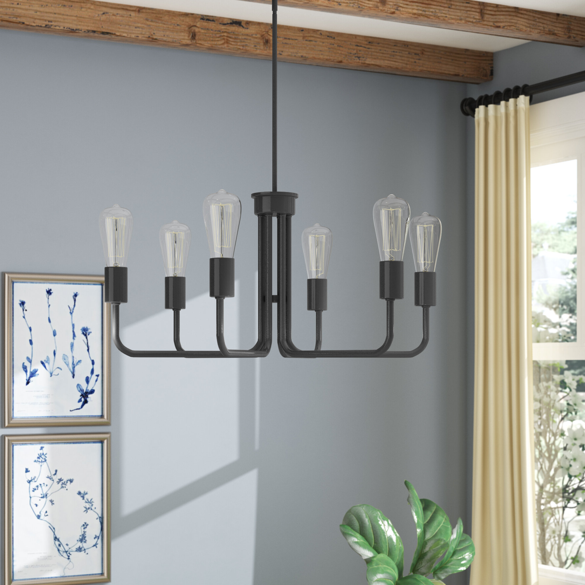 Well Known Shaylee 6 Light Candle Style Chandeliers Throughout Marte 6 Light Candle Style Chandelier (Gallery 13 of 20)