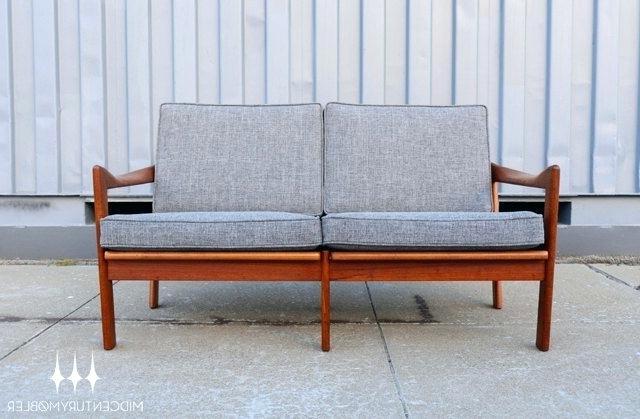 Well Known Summerton Teak Loveseats With Cushions Within Teak Loveseat Teak Loveseats Furniture Teak Wood Patio (View 18 of 20)