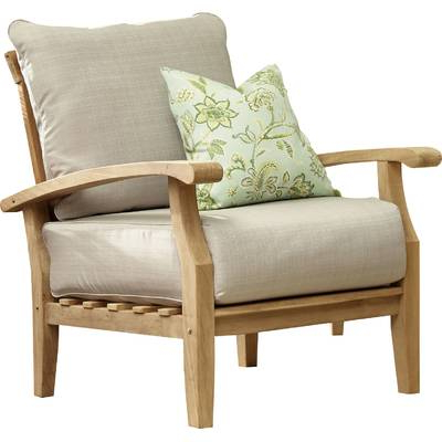 Well Known Summerton Teak Patio Sofas With Cushions For Summerton Teak Loveseat With Cushions (View 19 of 20)