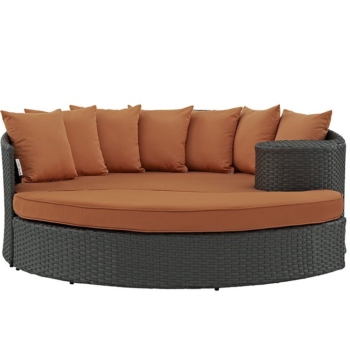 Well Known Tripp Patio Daybeds With Cushions Throughout Tripp Patio Daybed With Cushions (Gallery 6 of 20)