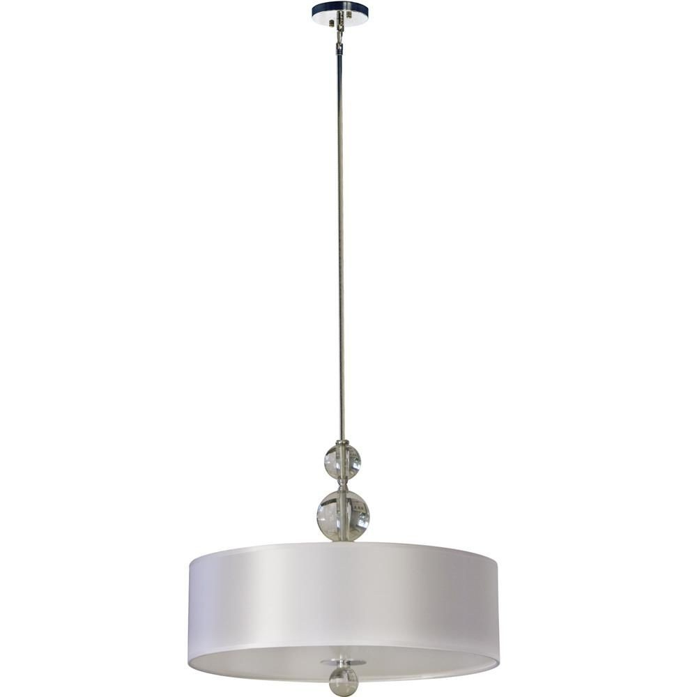 Well Known Willems 1 Light Single Drum Pendants In Whitfield Lighting (Gallery 7 of 20)