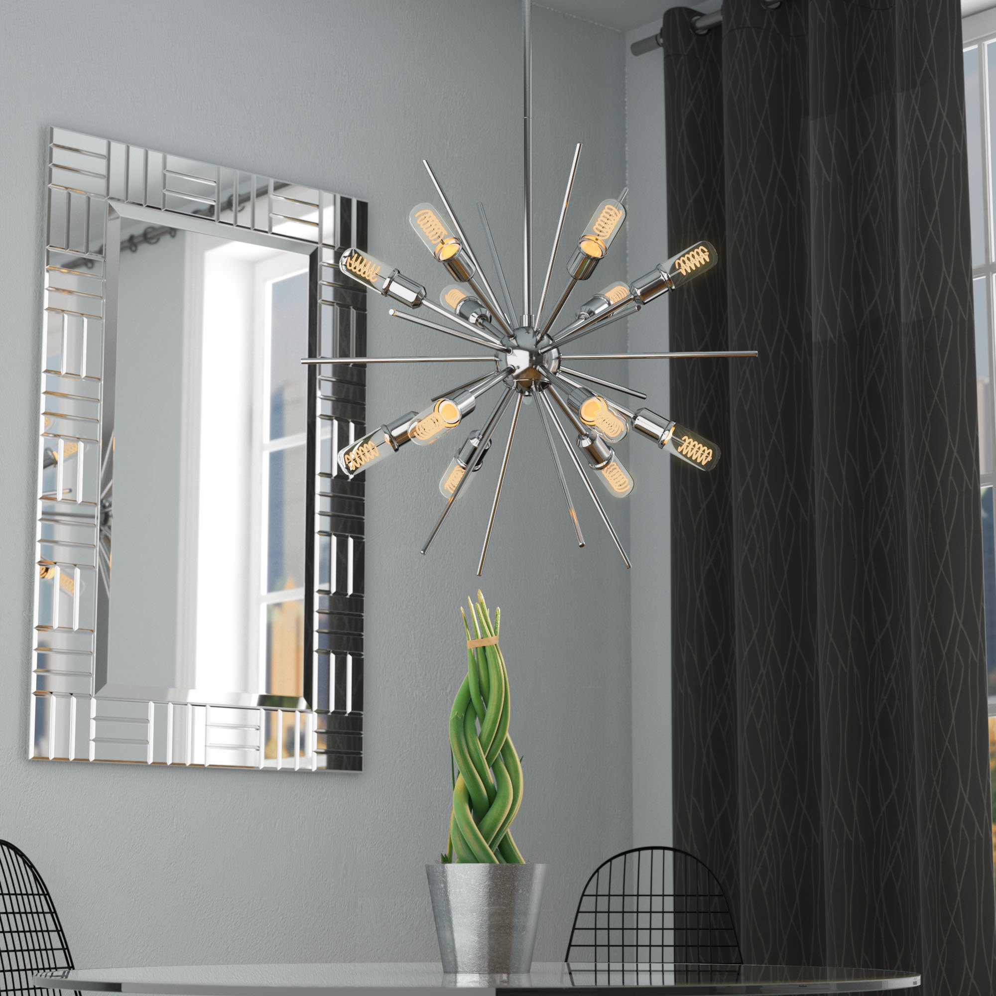 Well Liked Bacchus 12 Light Sputnik Chandeliers Throughout Corona 12 Light Sputnik Chandelier (View 17 of 20)