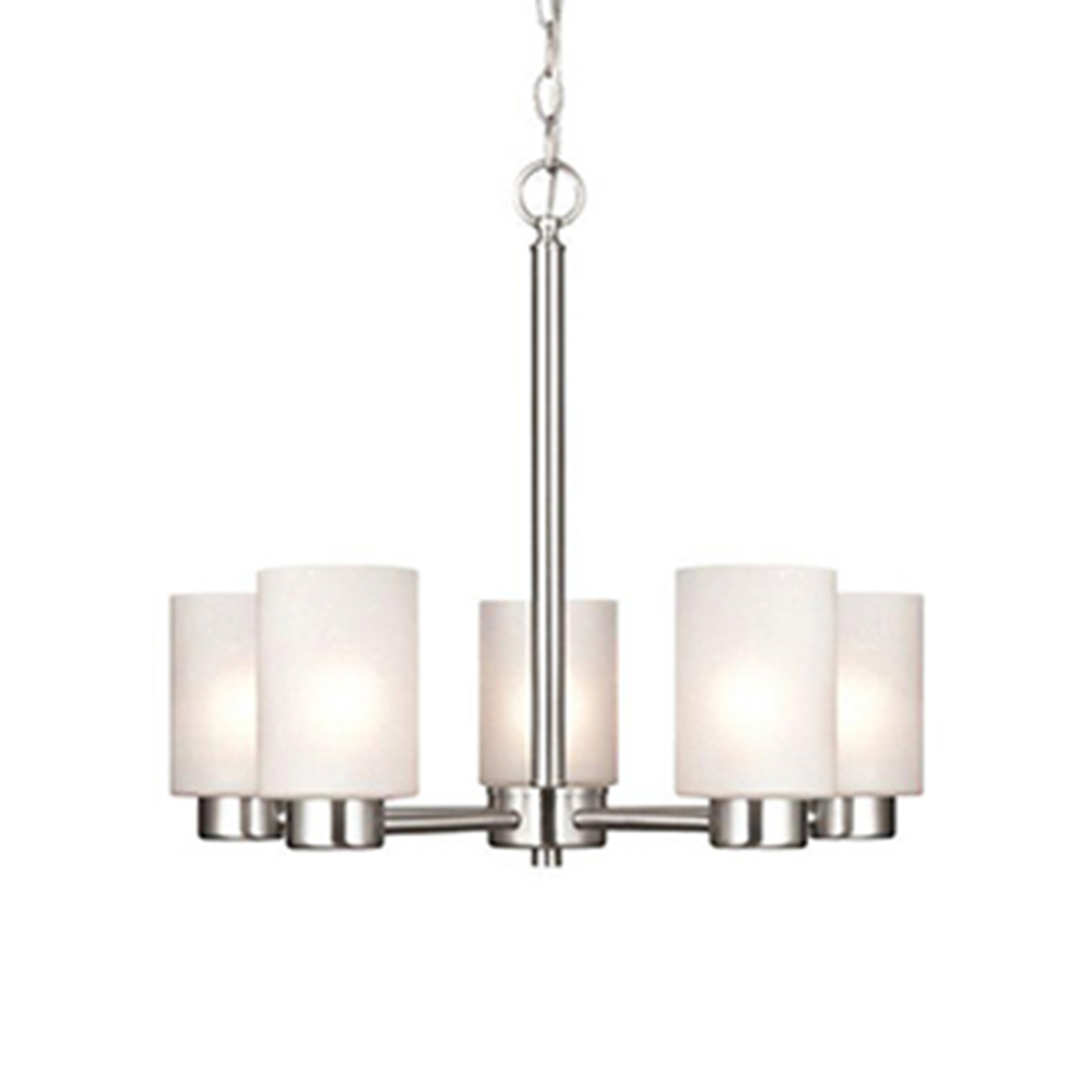 Well Liked Chandeliers – The Home Depot For Newent 5 Light Shaded Chandeliers (Gallery 18 of 20)