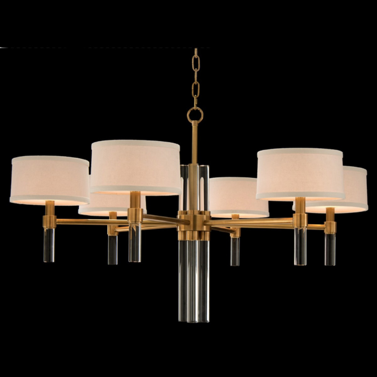 Well Liked John Richard Six Light Glass Spear Chandelier With Joon 6 Light Globe Chandeliers (View 20 of 20)
