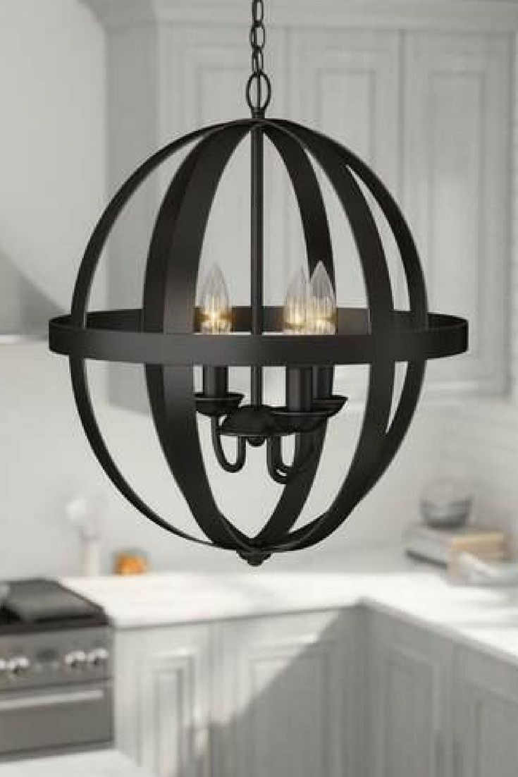 Well Liked La Barge 3 Light Globe Chandeliers Within Love This Look! Laurel Foundry Modern Farmhouse La Barge  (View 20 of 20)