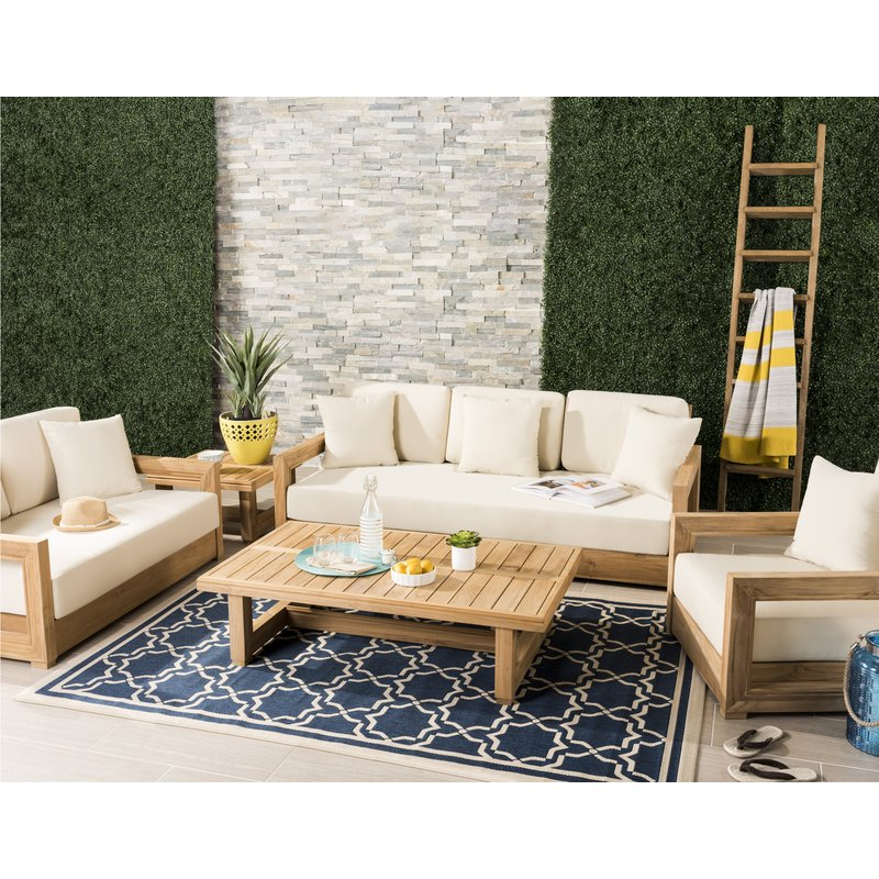 Well Liked Lakeland Teak Patio Sofas With Cushions With Lakeland Teak Patio Sofa With Cushions (View 5 of 20)