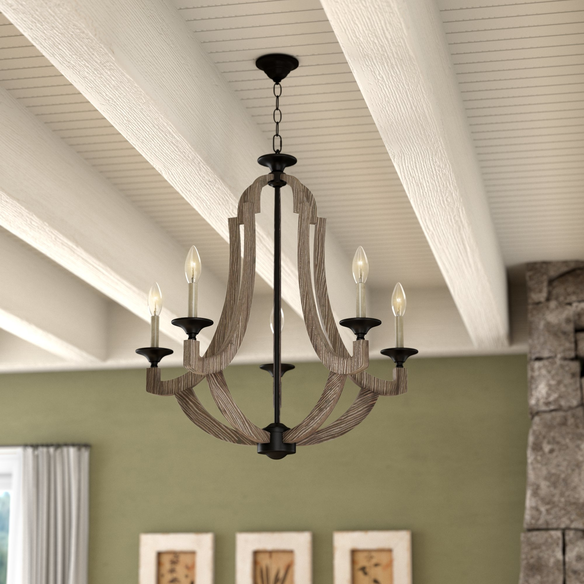 Well Liked Marcoux 5 Light Empire Chandelier With Regard To Kenna 5 Light Empire Chandeliers (View 20 of 20)