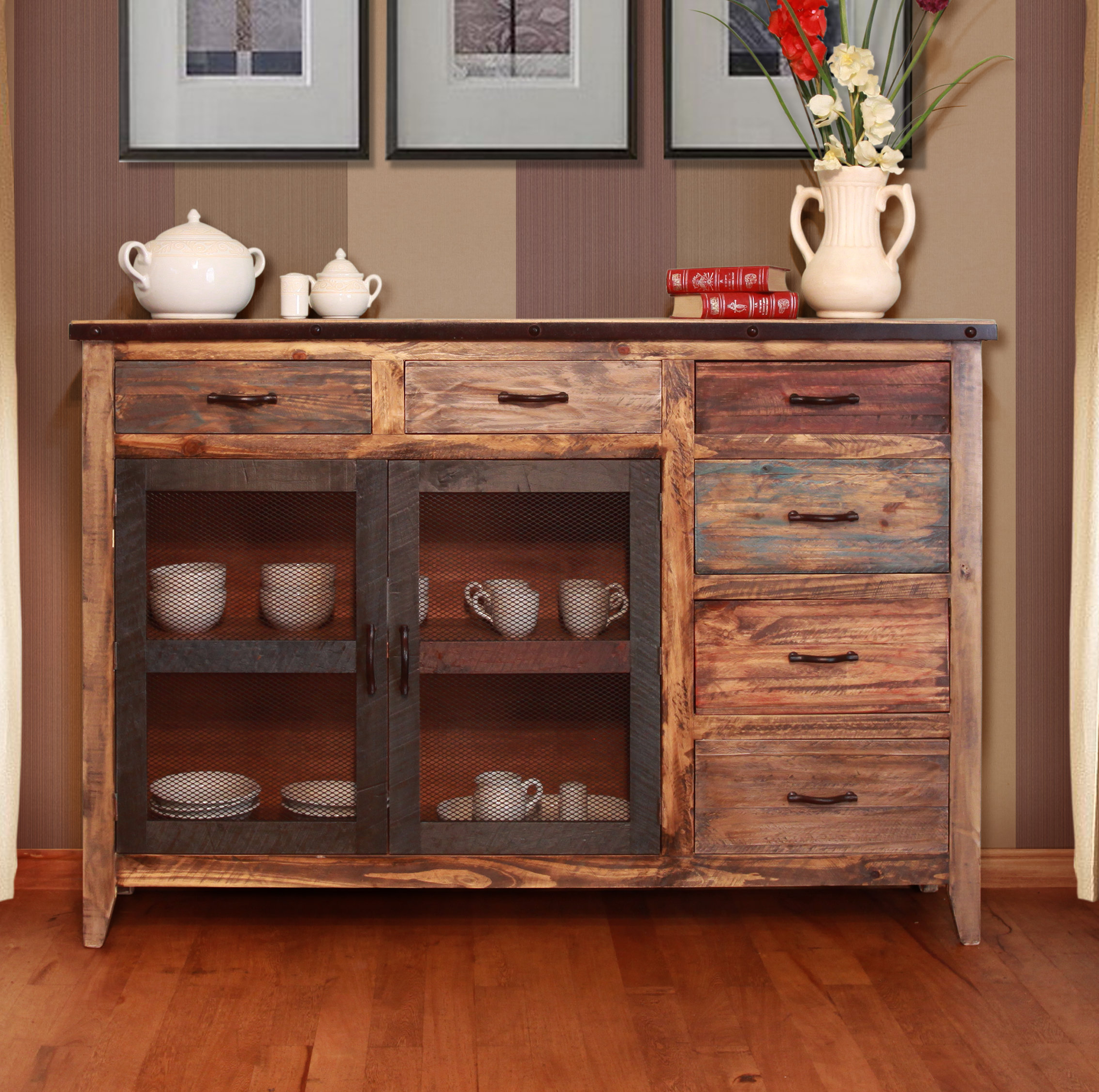 Well Liked Massillon Sideboards With Regard To Distressed Finish Sideboards & Buffets You'll Love In 2019 (Gallery 10 of 20)