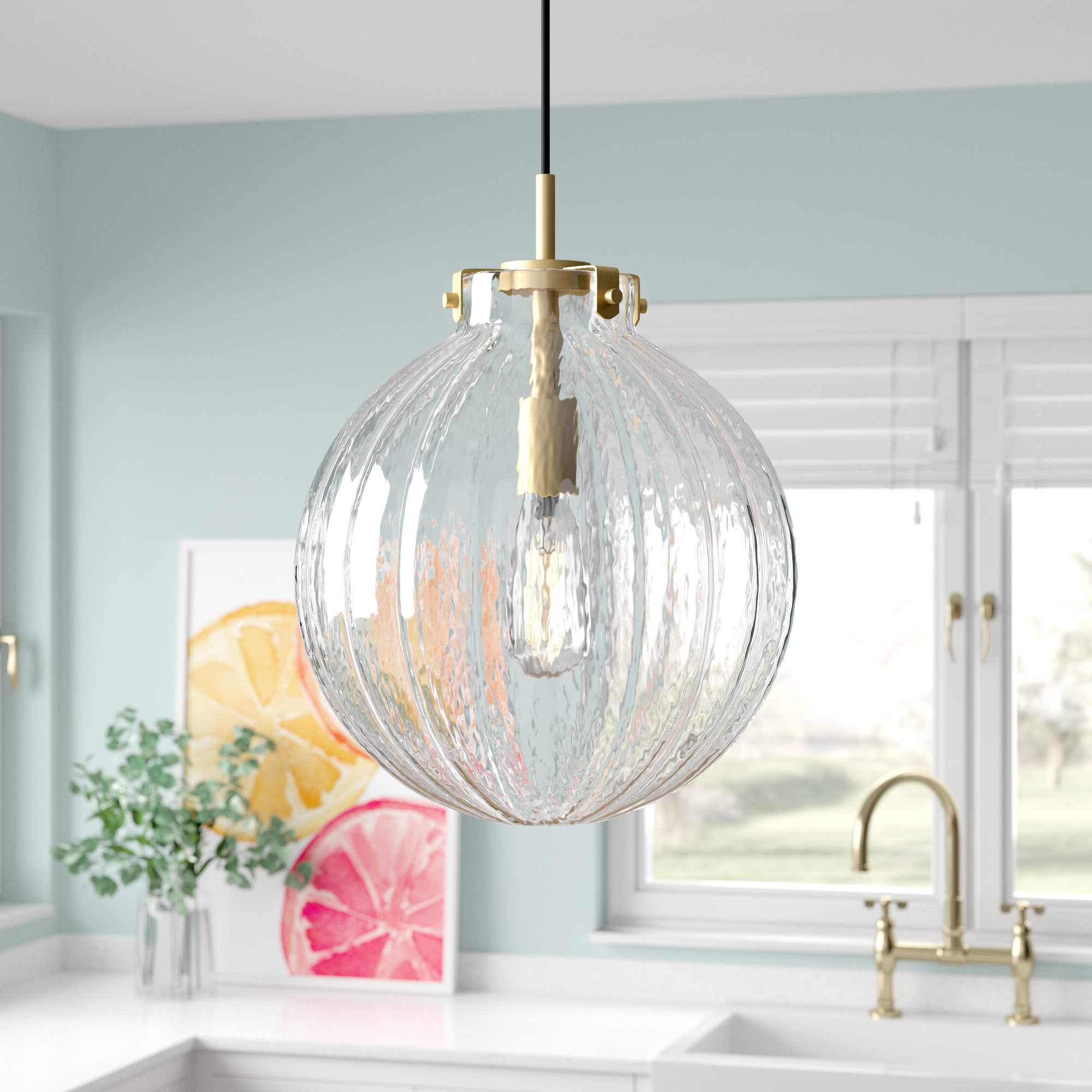 Well Liked Nevels 1 Light Single Globe Pendant In Cayden 1 Light Single Globe Pendants (View 18 of 20)