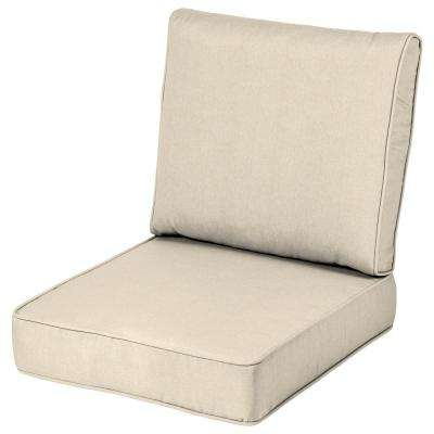 Well Liked Patio Sofas With Cushions For Outdoor Chair Cushions – Outdoor Cushions – The Home Depot (Gallery 5 of 20)