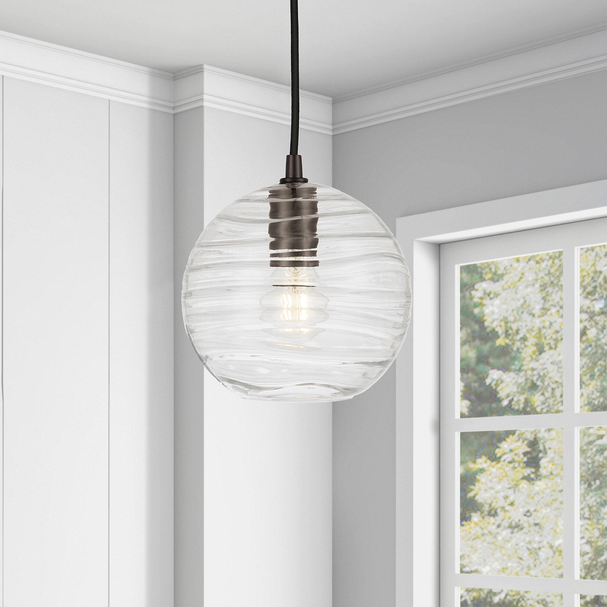 Well Liked Prange 1 Light Single Globe Pendants With Regard To Aaru 1 Light Single Globe Pendant (View 19 of 20)