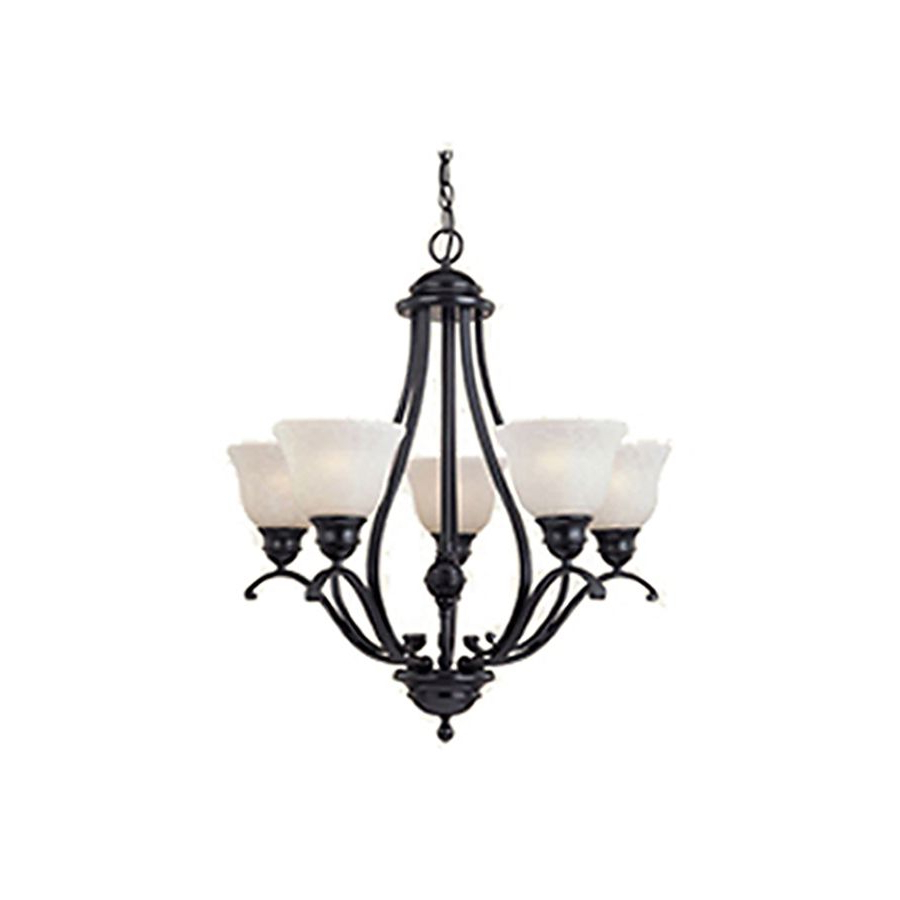 Well Liked Pyramid Creations Linda 26 In 5 Light Black Chandelier For Newent 5 Light Shaded Chandeliers (Gallery 9 of 20)