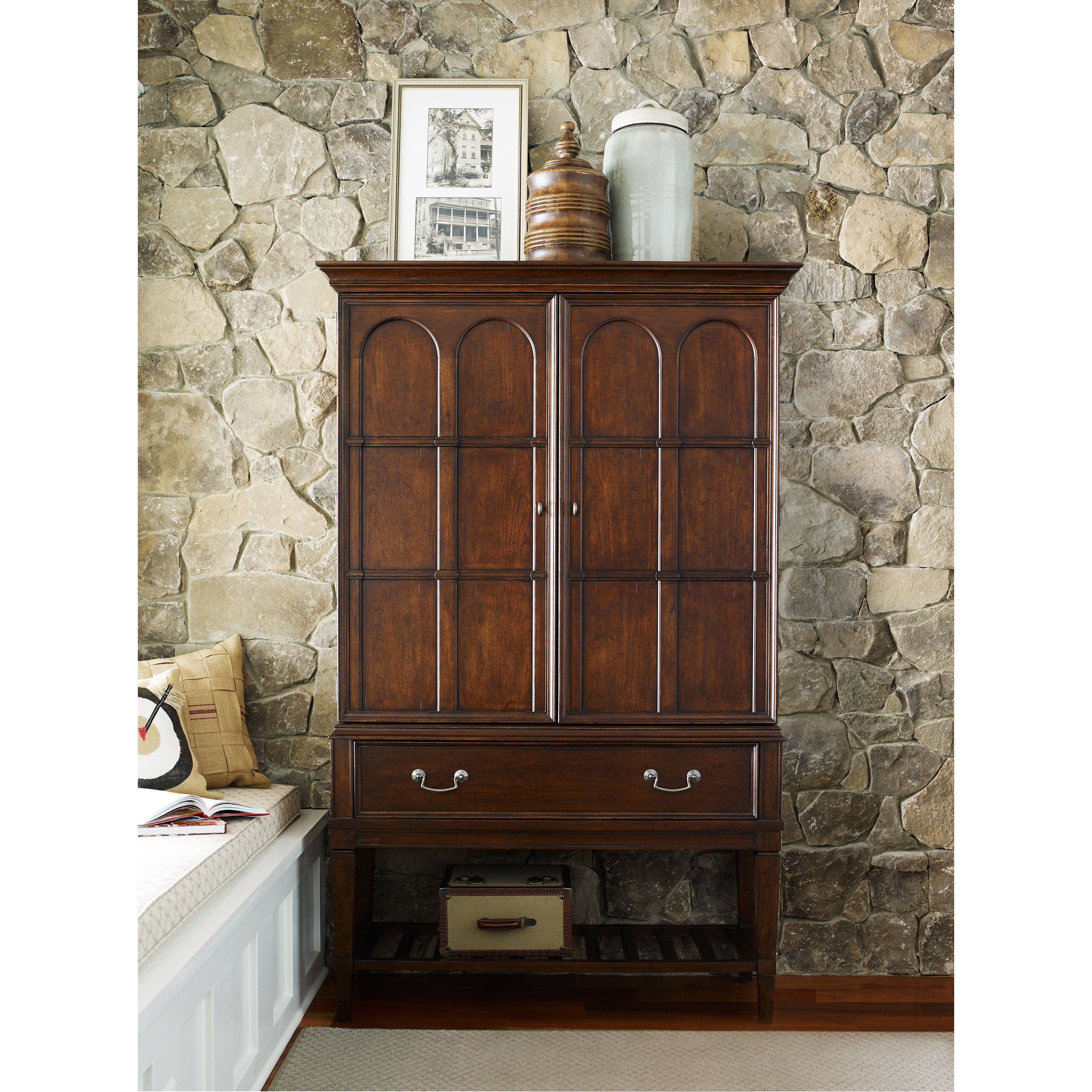 Well Liked Rachael Ray Upstatelegacy Classic Bar Cabinet – 6040 155 Within Arminta Wood Sideboards (View 9 of 20)