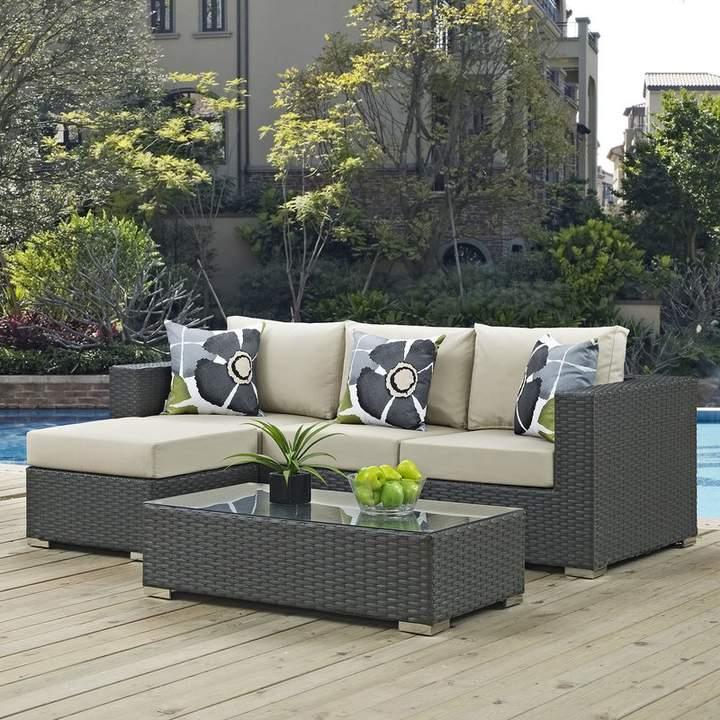 Well Liked Tripp Brayden Studio 3 Piece Sunbrella Sofa Set With Regarding Tripp Loveseats With Cushions (View 19 of 20)