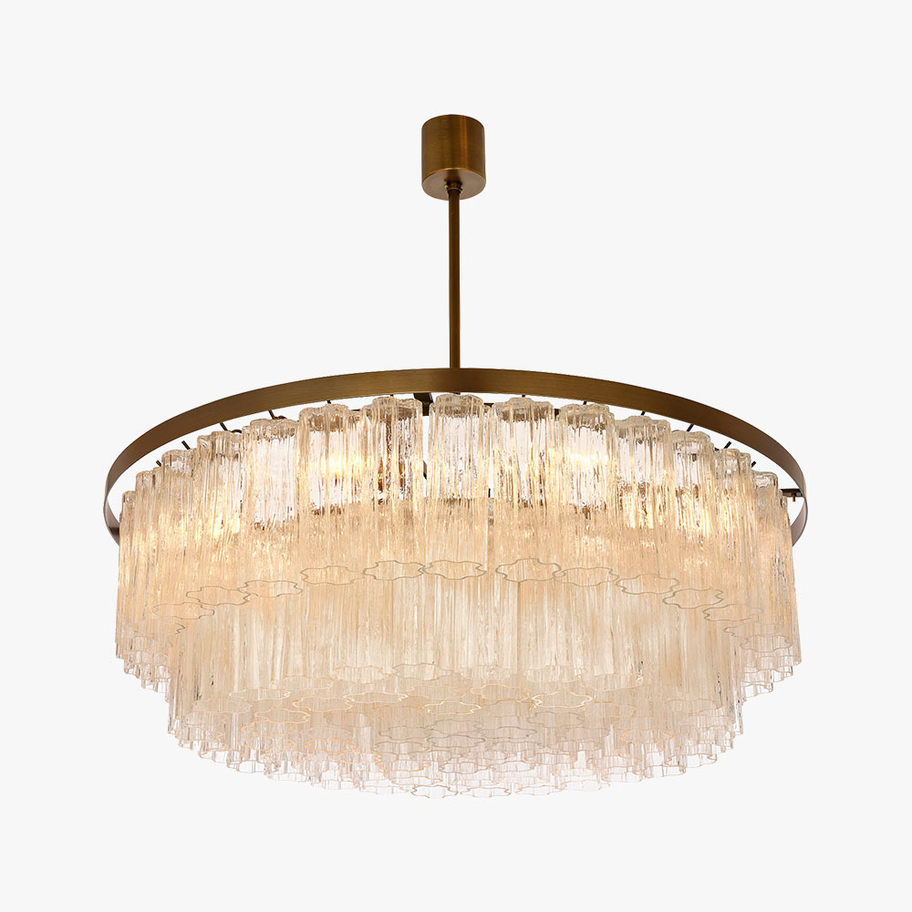 Well Liked Vincent 5 Light Drum Chandeliers Intended For Pentagon Double Drum Chandelier (View 8 of 20)