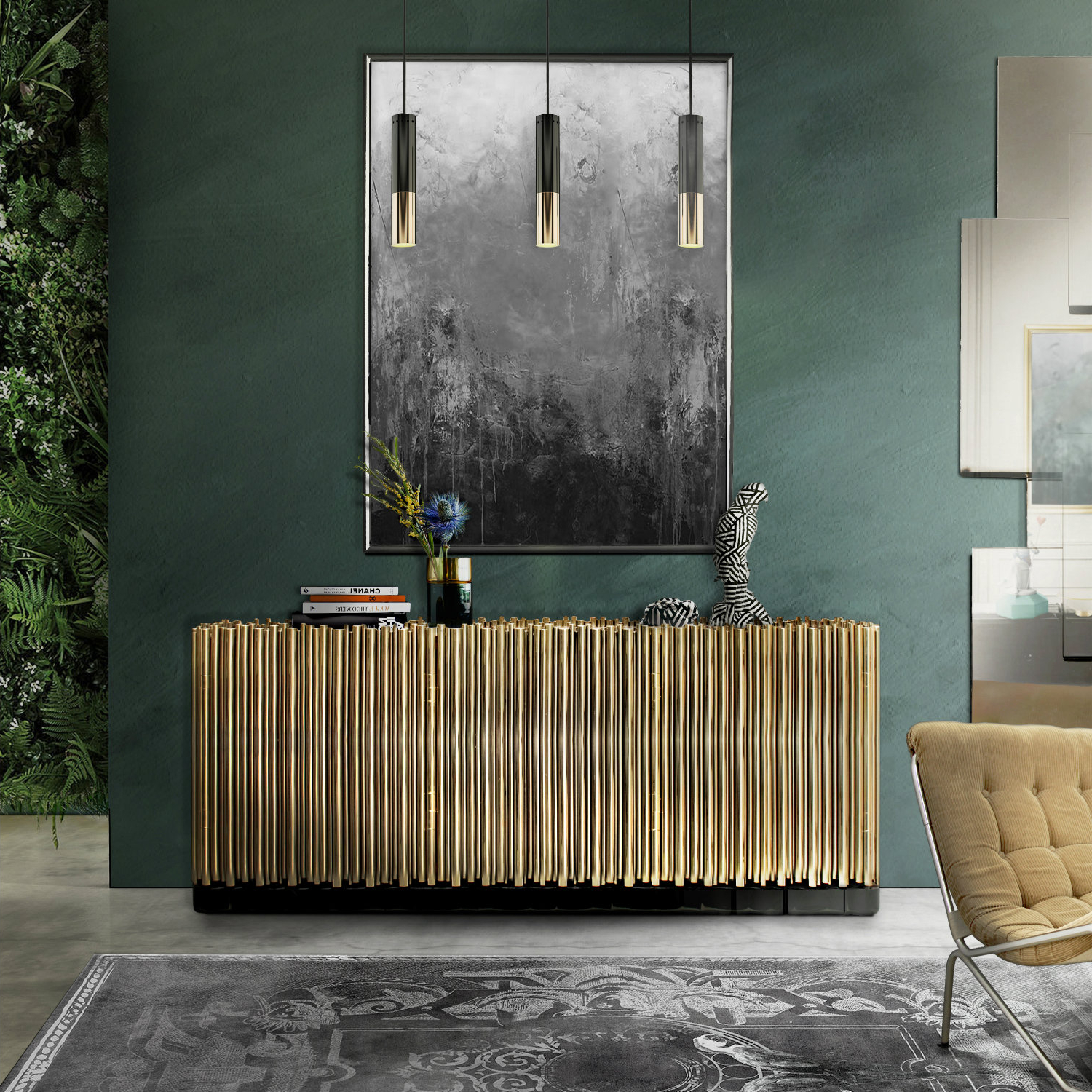 Well Liked Wattisham Sideboards With Regard To The Best Metal Sideboards For A Welcoming Entrance Foyer (View 19 of 20)