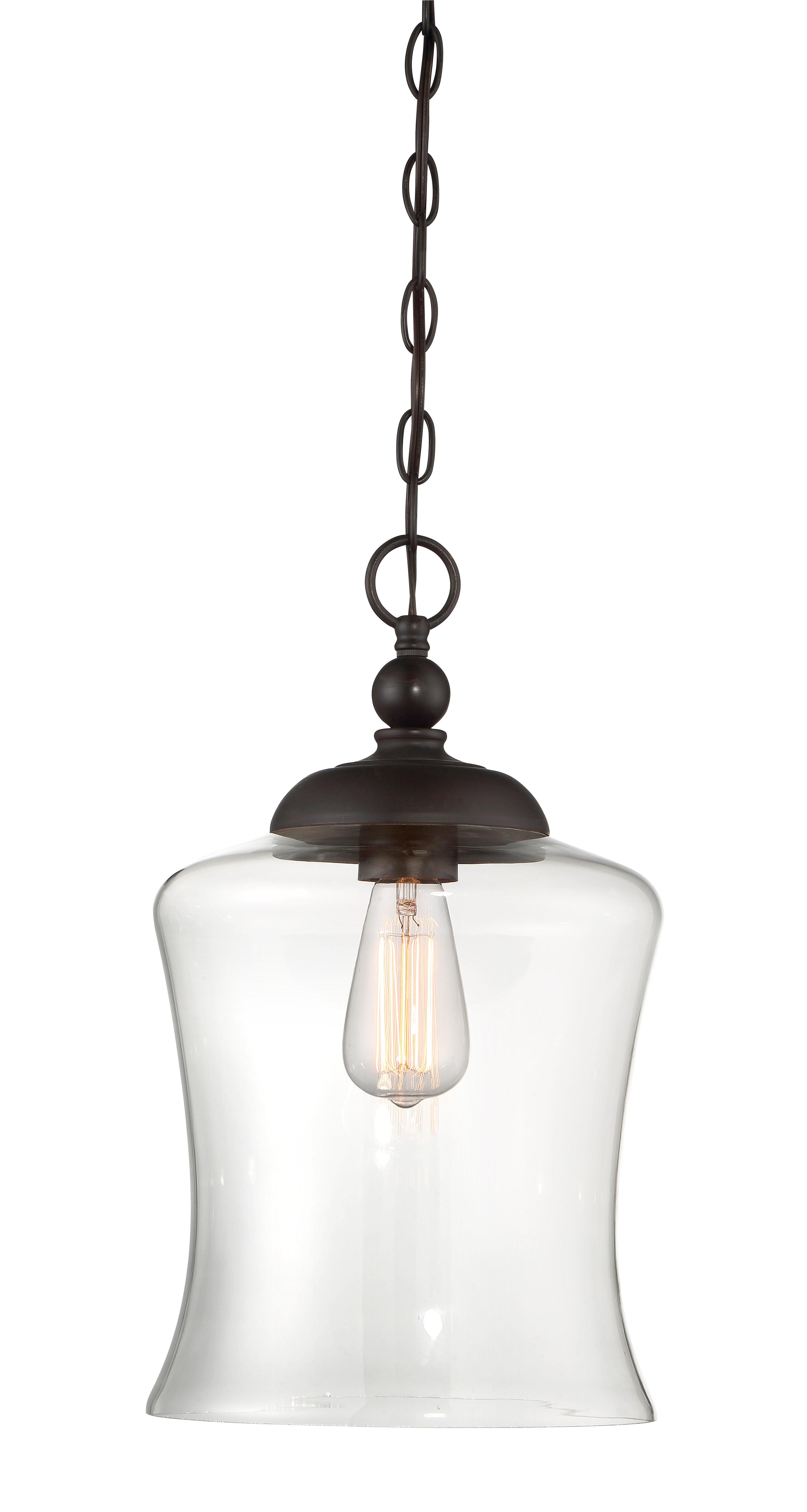 Well Liked Wentzville 1 Light Single Bell Pendants Regarding Charlton Home Wentzville 1 Light Single Bell Pendant (Gallery 3 of 20)