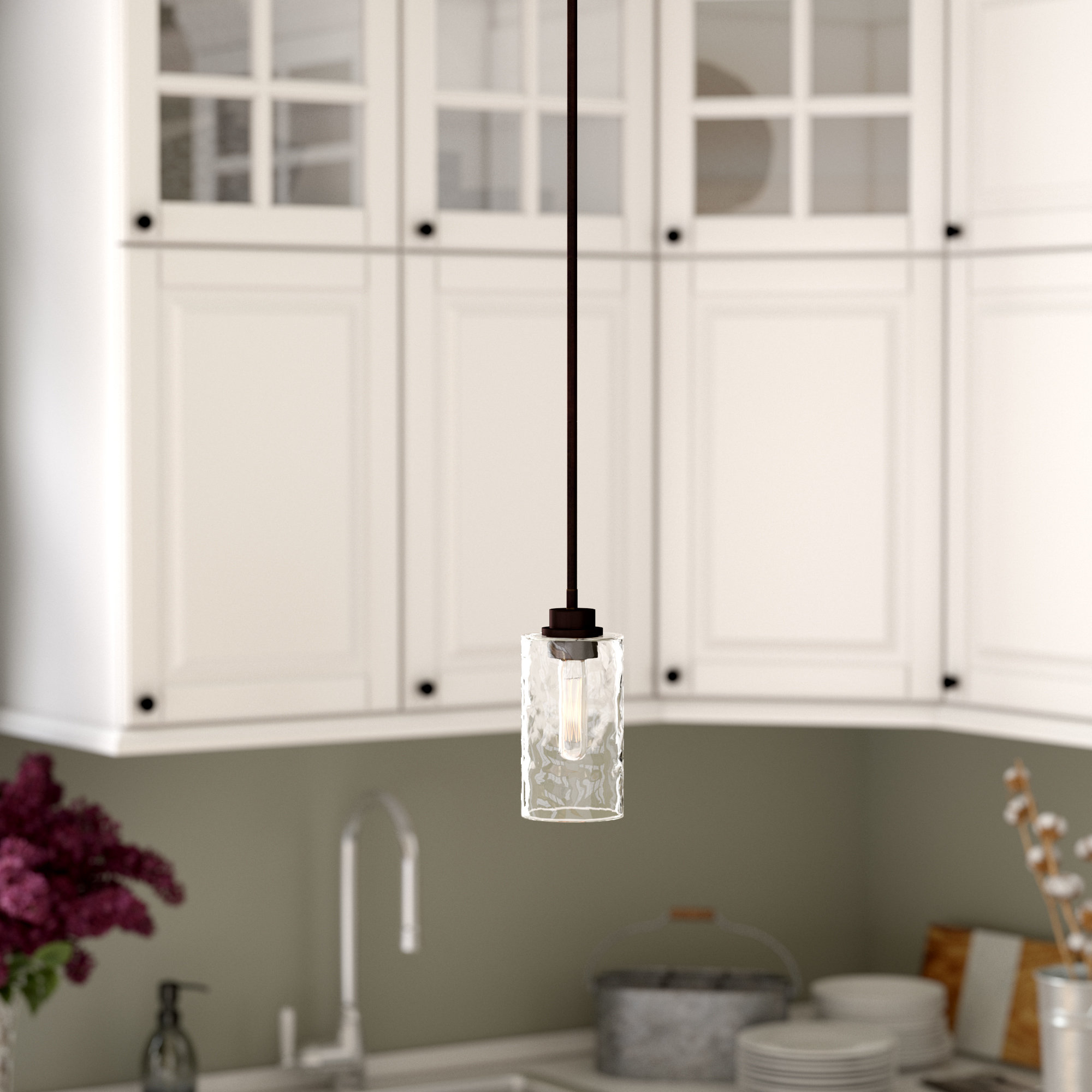 Westhope 1 Light Cylinder Pendant Intended For 2020 Cinchring 1 Light Cone Pendants (View 20 of 20)