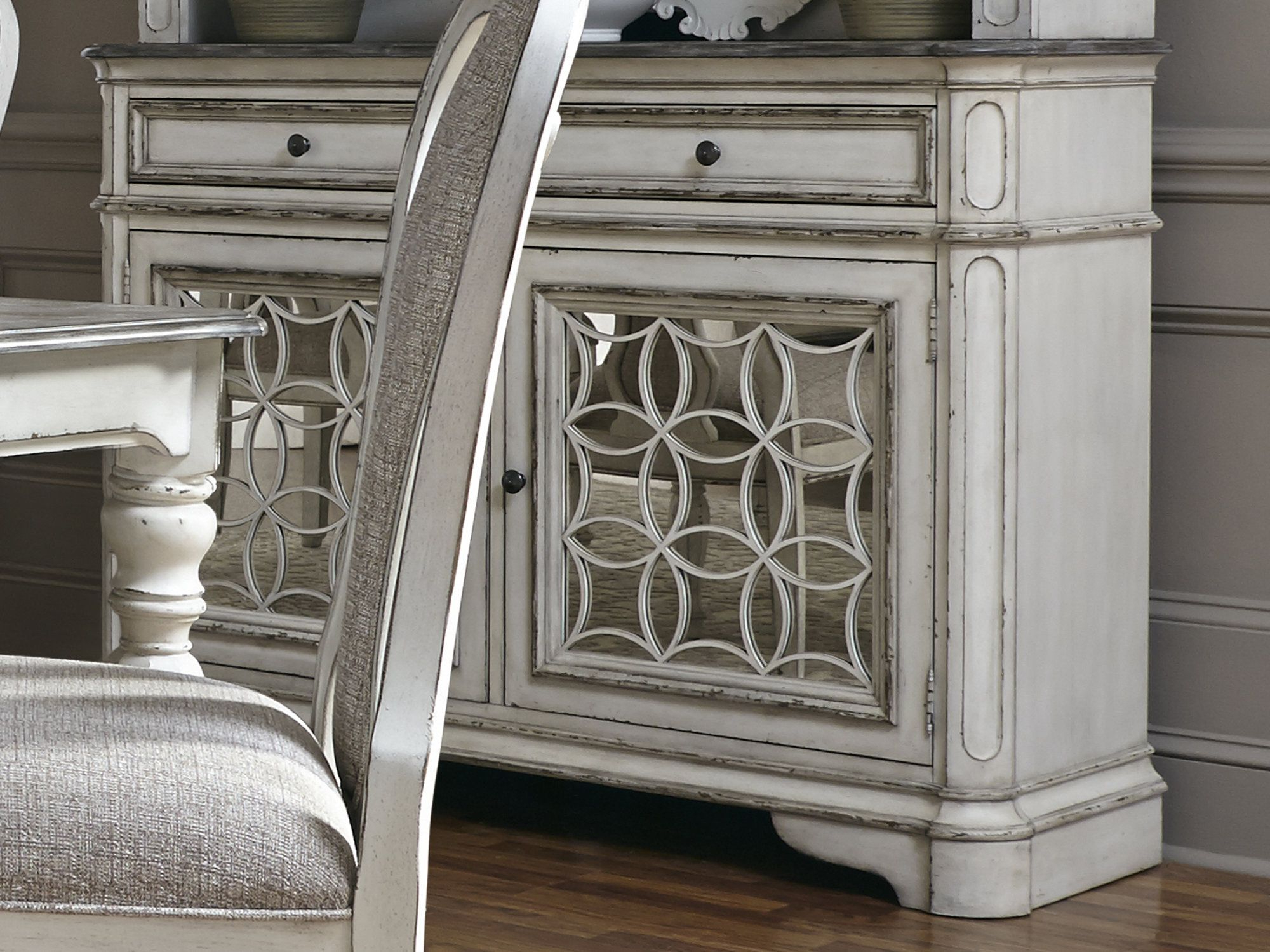 White Buffet, Sideboard For Most Up To Date Tiphaine Sideboards (View 16 of 20)