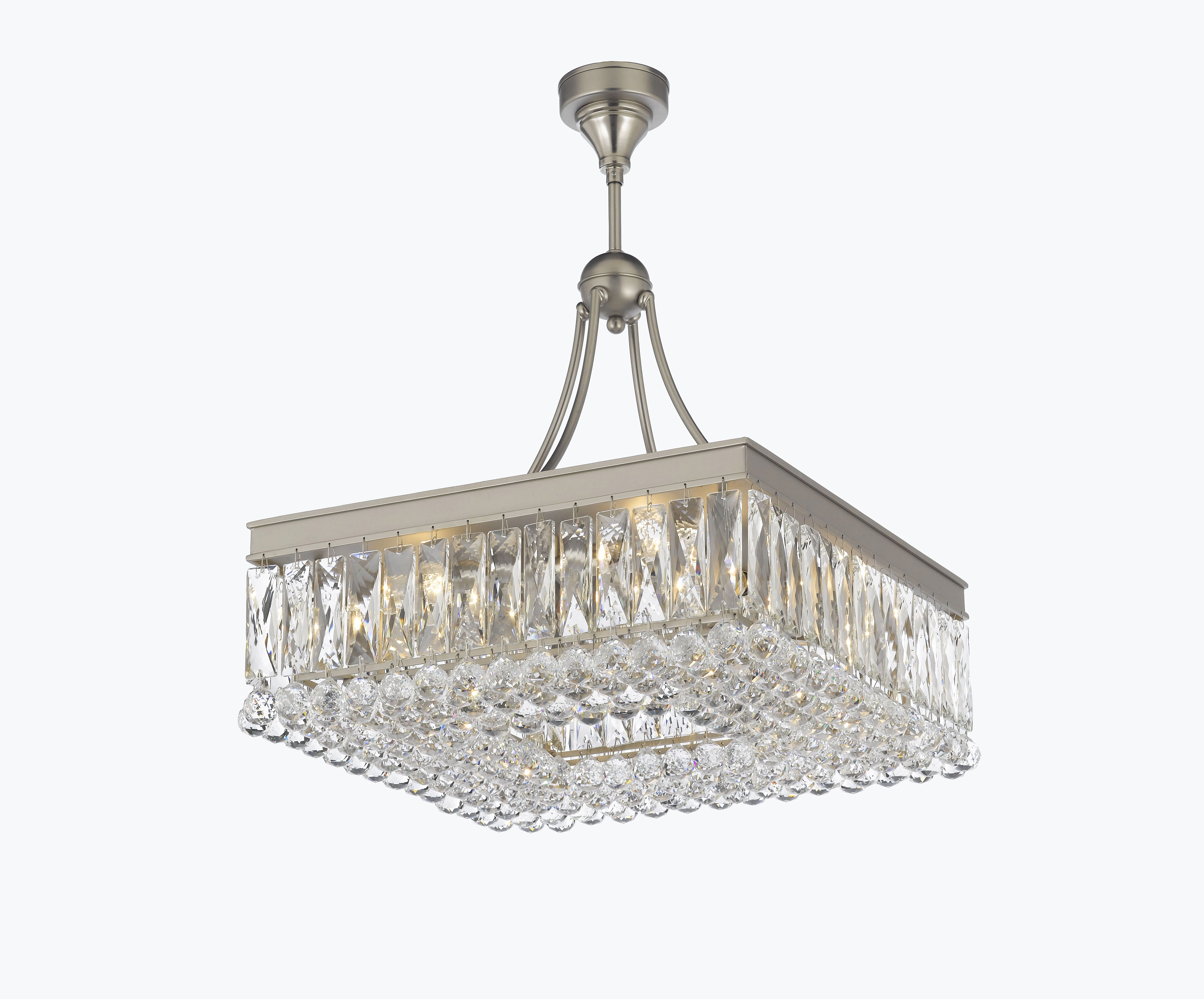 Whitten 4 Light Crystal Chandeliers Intended For Widely Used Crystal World Inc (View 17 of 20)