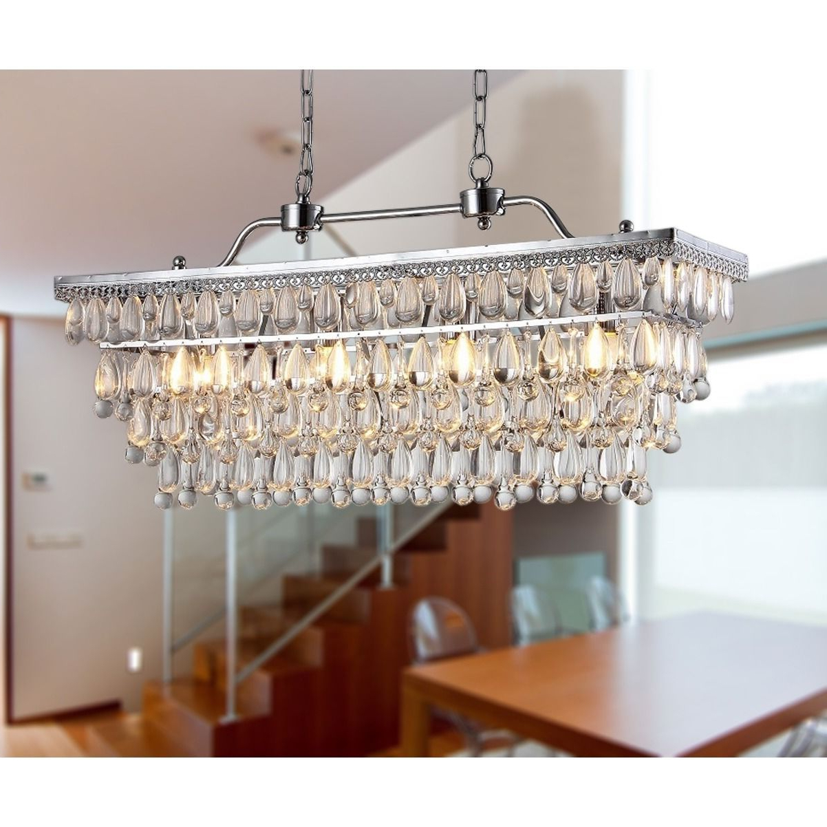 Whitten 4 Light Crystal Chandeliers With Trendy Willow 4 Light Crystal 30 Inch Chrome Chandelier – Artofit (Gallery 7 of 20)