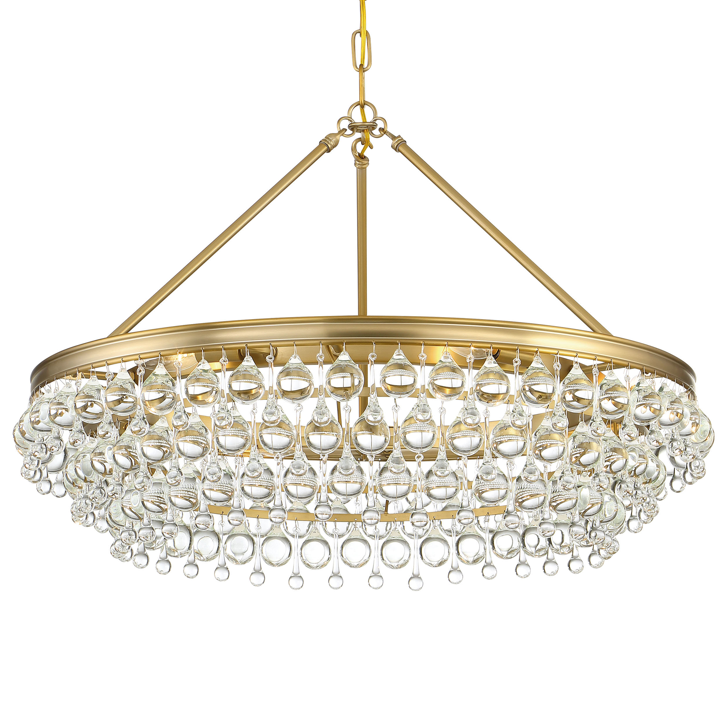 Whyalla 6 Light Crystal Chandelier Pertaining To Best And Newest Bramers 6 Light Novelty Chandeliers (View 20 of 20)