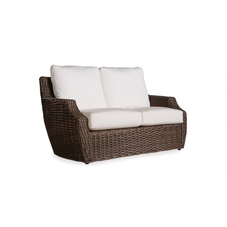 Wicker Loveseats In Fashionable Lloyd Flanders Largo Wicker Loveseat (View 16 of 20)