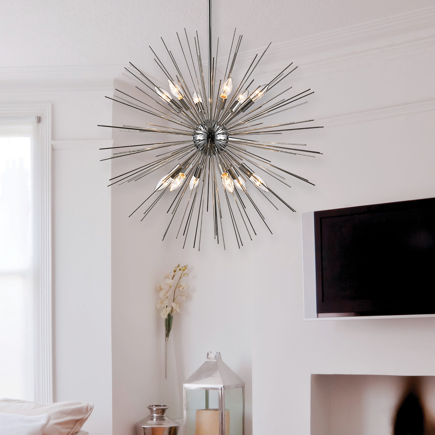 Widely Used Antonie 12 Light Sputnik Chandelier Within Nelly 12 Light Sputnik Chandeliers (View 19 of 20)