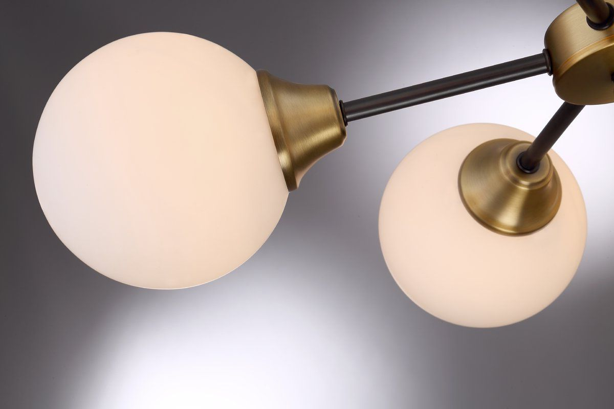 Widely Used Bautista 5 Light Sputnik Chandelier (View 4 of 20)