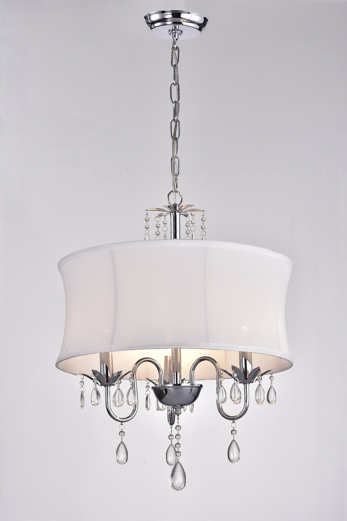 Widely Used Buster 5 Light Drum Chandeliers Within Leandra 3 Light Drum Chandelier (Gallery 8 of 20)