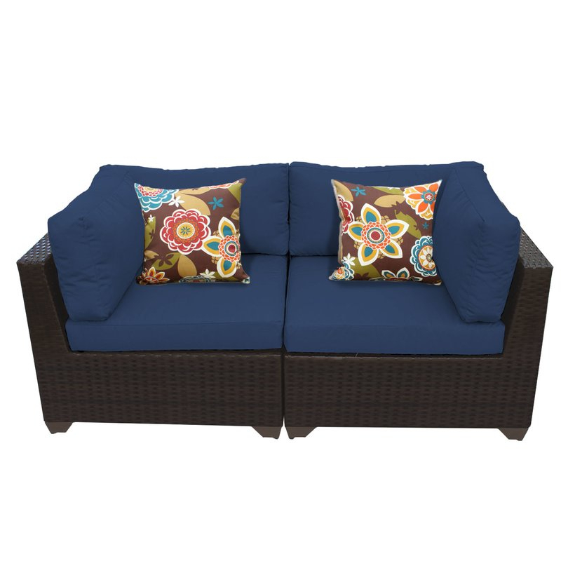 Widely Used Camak Patio Loveseats With Cushions With Camak Patio Loveseat With Cushions (View 3 of 20)