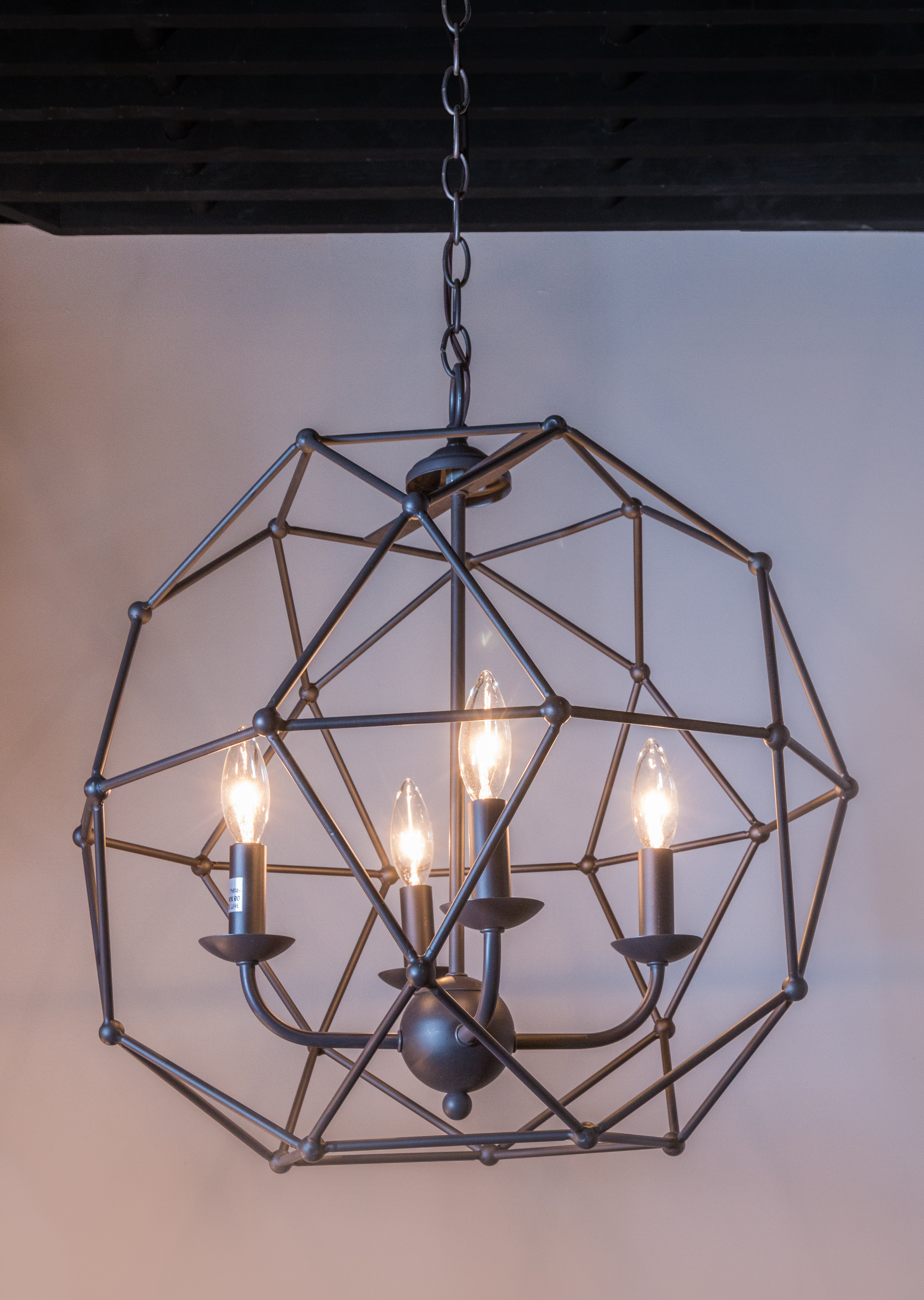 Widely Used Cavanagh 4 Light Geometric Chandeliers Inside Mercury Row Cavanagh 4 Light Geometric Chandelier (View 4 of 20)