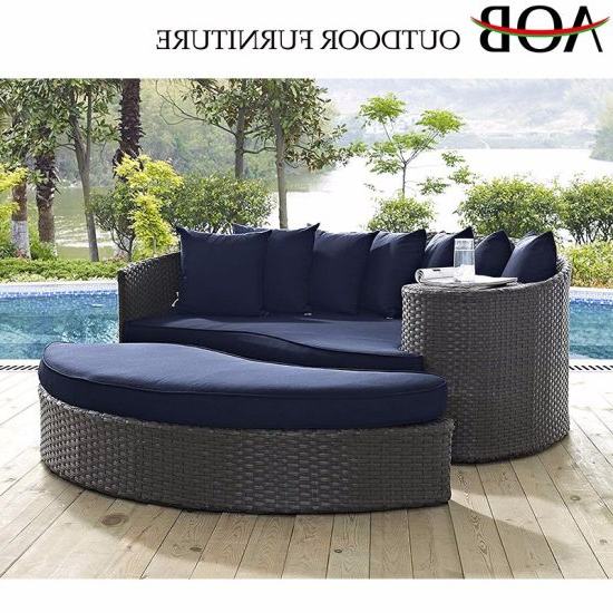 Widely Used China Modern Outdoor Garden Hotel Resort Poolside Furniture In Resort Patio Daybeds (Gallery 14 of 20)
