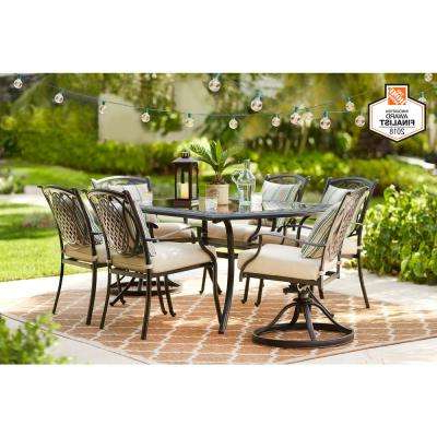 Widely Used Corentin Patio Sofas For Metal – Patio Furniture – Outdoors – The Home Depot (View 11 of 20)