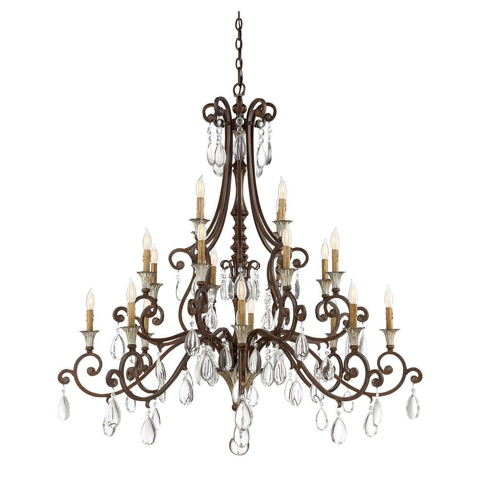Widely Used Illumine 20 Light Chandelier New Tortoise Shell With Silver Pertaining To Blanchette 5 Light Candle Style Chandeliers (View 20 of 20)