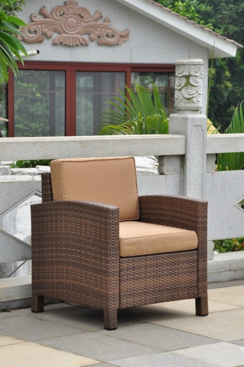 Widely Used Katzer Patio Sofas With Cushions Intended For Katzer Patio Chair With Cushion (View 20 of 20)