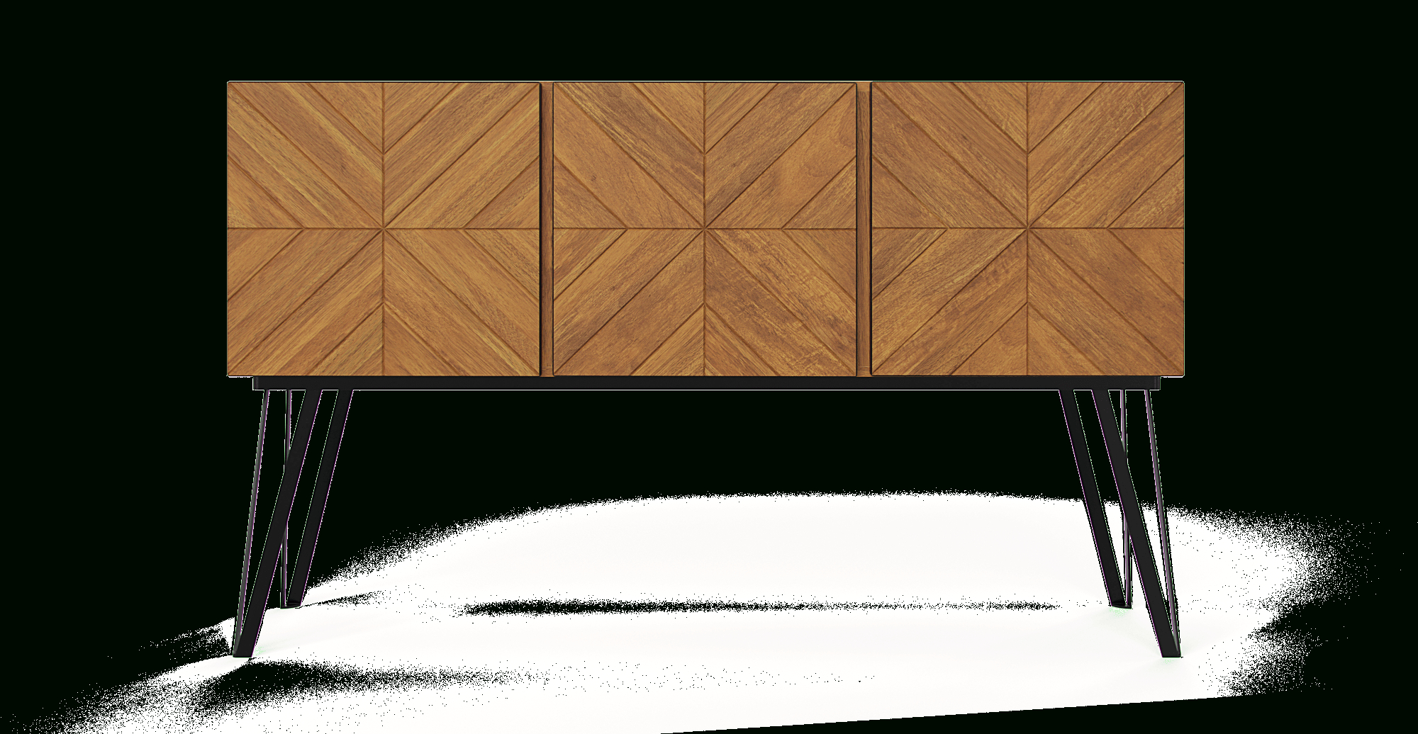 Widely Used Malibu 2 Door 1 Drawer Sideboards Regarding Conrad Large Sideboard (Gallery 20 of 20)