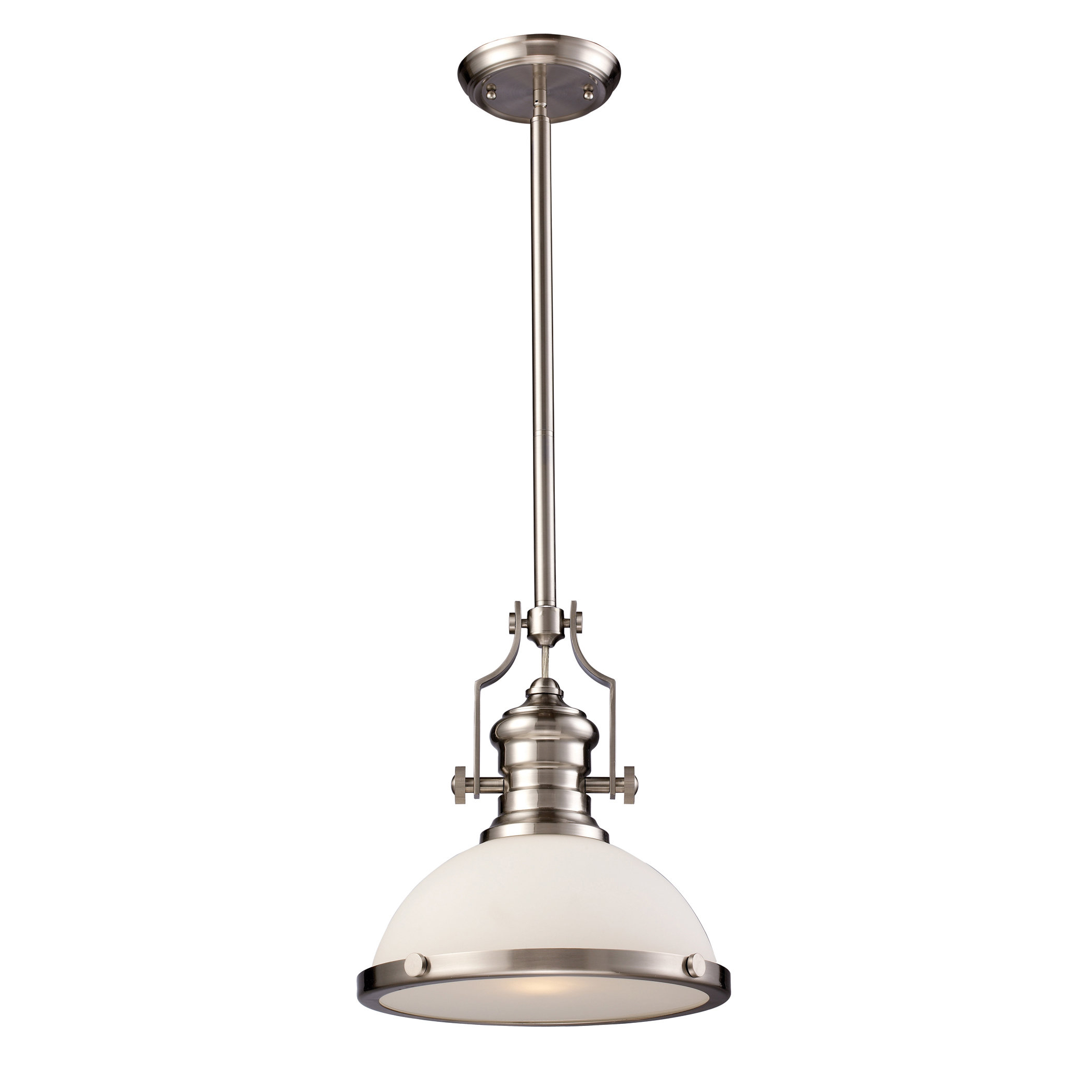 Widely Used Mueller 1 Light Single Dome Pendants Throughout Proctor 1 Light Bowl Pendant (Gallery 13 of 20)