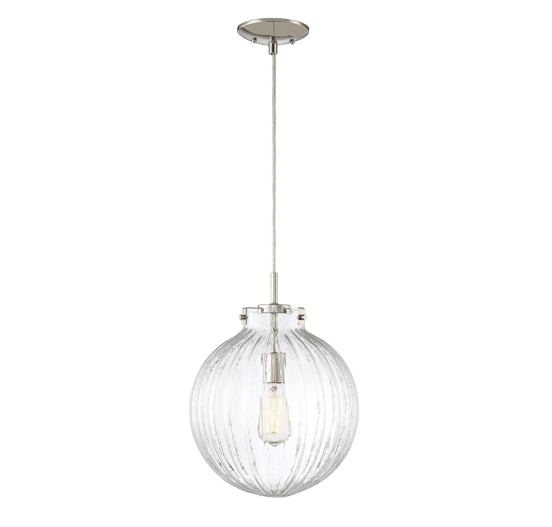 Widely Used Nevels 1 Light Single Globe Pendant Intended For Demi 1 Light Globe Pendants (View 6 of 20)