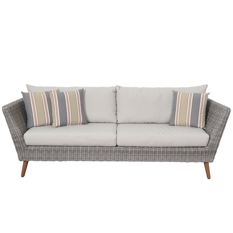 Widely Used Newbury Patio Sofa With Cushions Intended For Newbury Patio Sofas With Cushions (View 20 of 20)