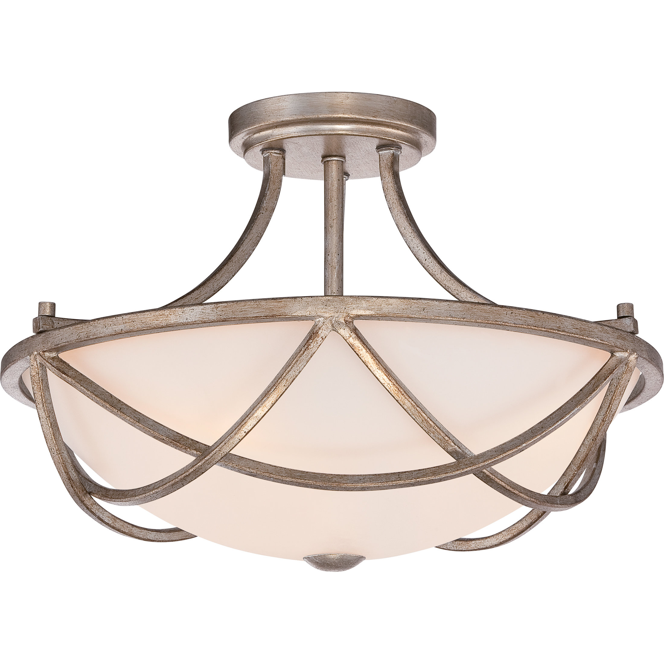 Widely Used Newent 3 Light Single Bowl Pendants Inside Hedda 2 Light Single Bowl Pendant (View 20 of 20)