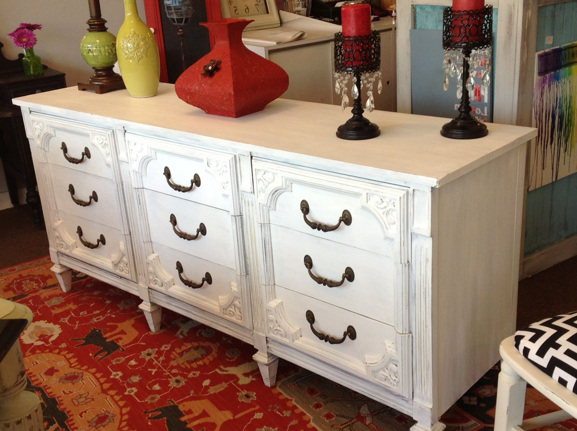 Widely Used Pineville Dining Sideboards Intended For Done In White 71X9X30H (View 20 of 20)